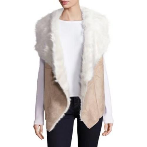 Saks Fifth Avenue - Faux Shearling Vest