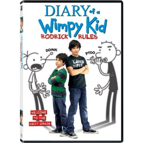 Diary of a Wimpy Kid: Rodrick Rules (dvd_video)