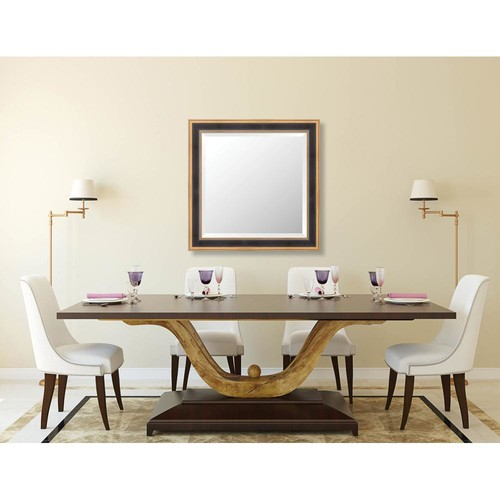 Larson-Juhl Prescott 29.625 in. x 29.625 in. Traditional Framed Bevel Mirror
