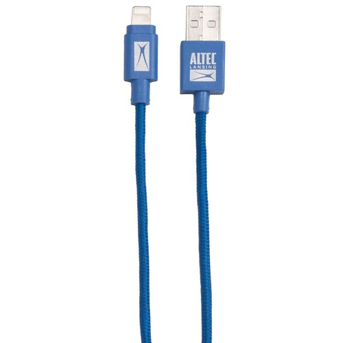 Altec Lansing 5-Foot Braided USB Apple Lightning Cable