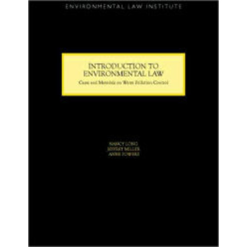 Introduction to Environmental Law