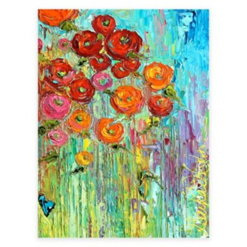 Poppies All-Weather Outdoor Canvas Wall Art