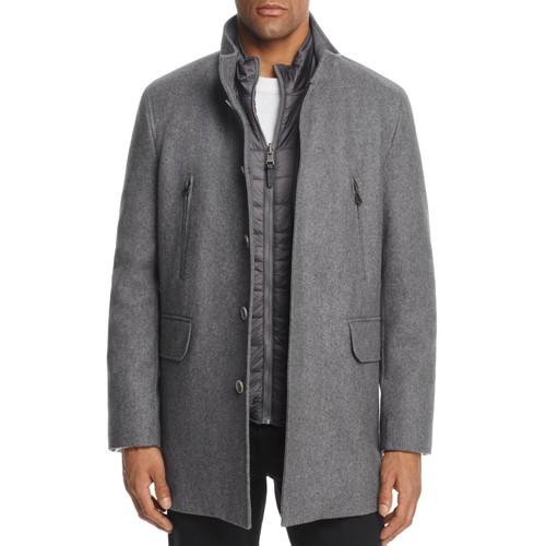 Melton Three-In-One Topper Coat