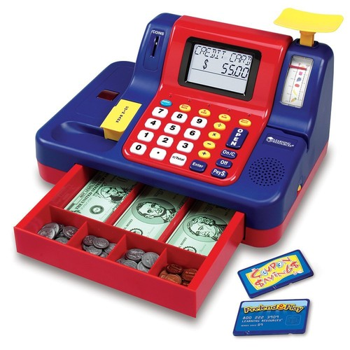 Pretend & Play Teaching Cash Register, USA, Brand Learning Resources