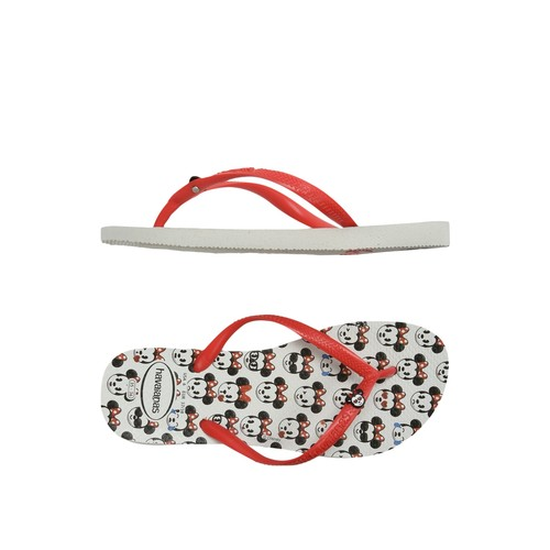 HAV. KIDS DISNEY COOL WHITE/RUBY RED