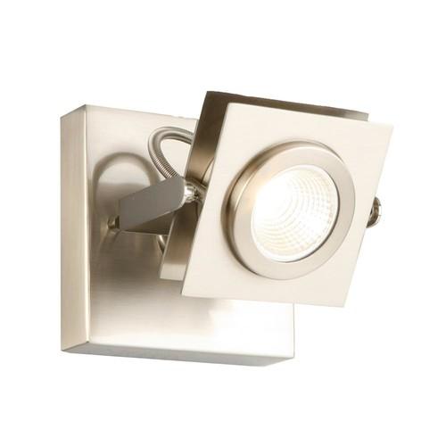 Design House Otero 1-Light Brushed Nickel Direct Track Light