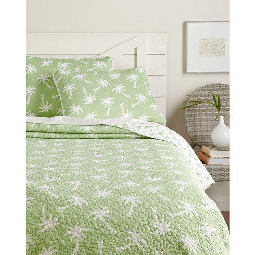 Panama Jack Palm Beach Quilt Set
