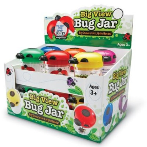 Learning Resources Primary Science Big View Bug Jar, 12/Set