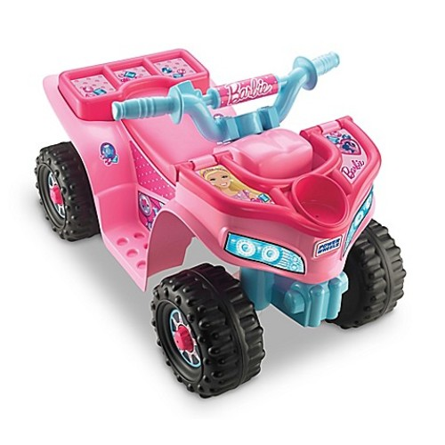 Fisher-Price Barbie Lil' Quad Ride-On Vehicle