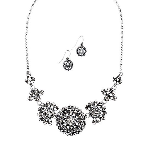 Stunning Radiance Necklace and Earring Set