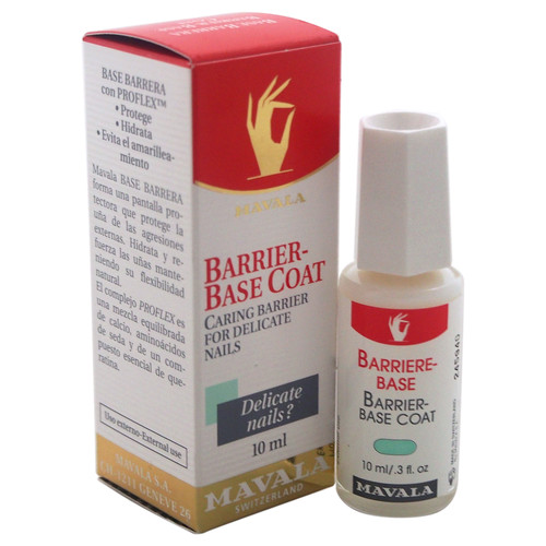 MAVALA Barrier-Base Coat for Delicate Nails by for Unisex - 0.3 oz Nail Care