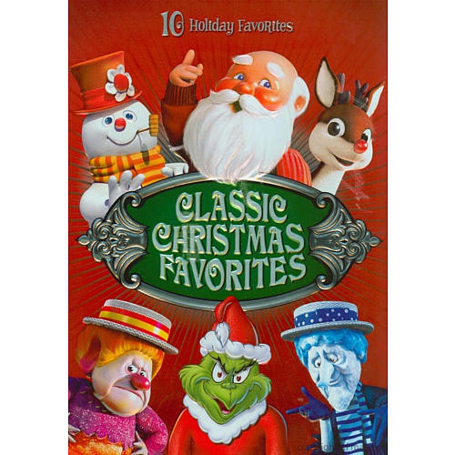Classic Christmas Favorites 4-Disc DVD Gift Set