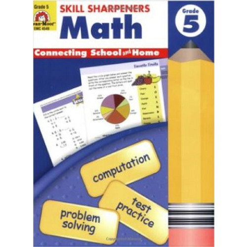 Skill Sharpeners Math Grade 5 Workbook