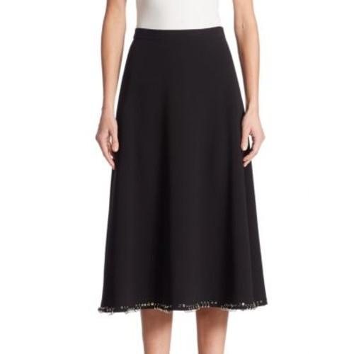 ALEXANDER WANG A-Line Mid-Calf Skirt