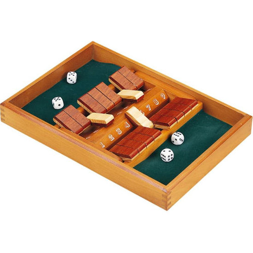 Double - Sided 9 Number Shut The Box