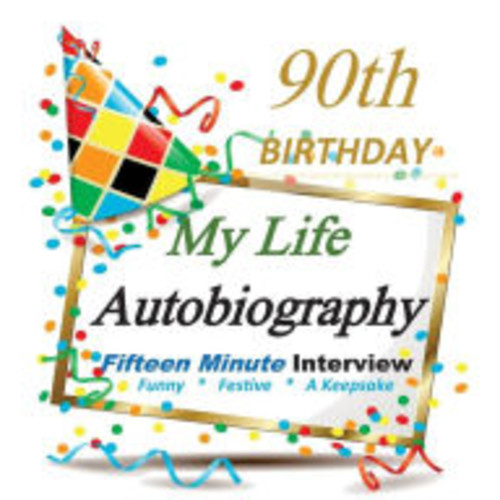 90th Birthday: My Life Autobiography, Party Favor, 90th Birthday Gifts in all Departments, 90th Birthday Party Favors in all Departments, 90th Birthday Card in all departments