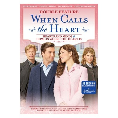 When Calls the Heart Hearts and Minds and Home is Where the Heart is (DVD)