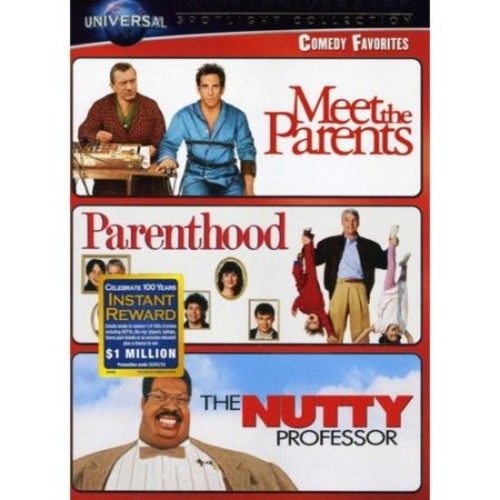 Comedy Favorites Spotlight Collection: (Meet the Parents / Parenthood / The Nutty Professor)