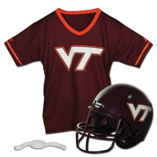 Virginia Tech University Kids Helmet/Jersey Set