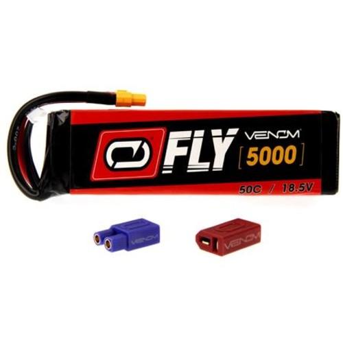 Venom Fly 50C 5S 5000mAh 18.5V LiPo Battery with UNI 2.0 Plug 25047