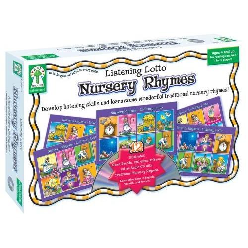 Listening Lotto: Nursery Rhymes Educational Board Game [1]