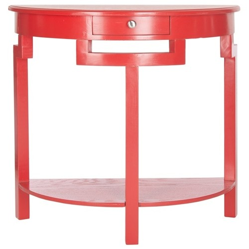 Safavieh Coffee, Console, Sofa & End Tables Safavieh Liana Hot Red Console