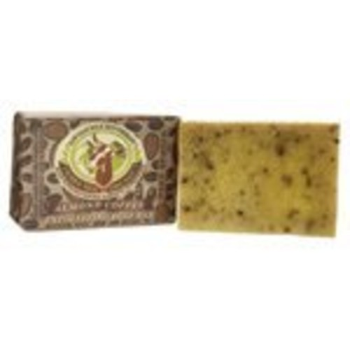 Tierra Mia Organics Almond Coffee Exfoliating Body Bar Soap, 3.8 Ounce