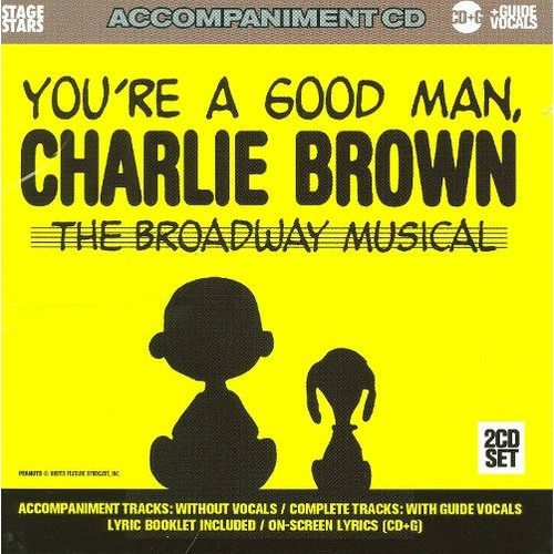 Karaoke: You're a Good Man Charlie Brown [CD]