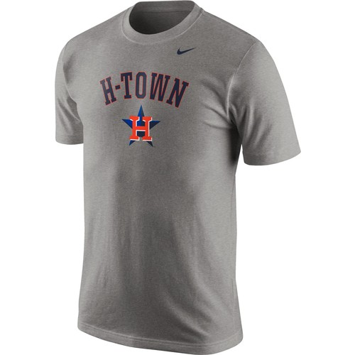 Nike Men's Houston Astros H-Town Grey T-Shirt