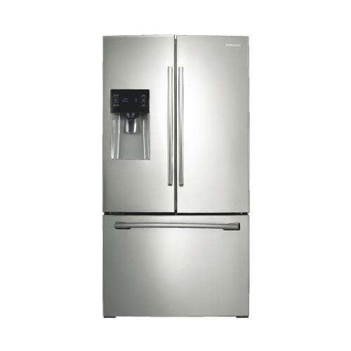 Samsung RF263BEAESR 26 cu. ft. French Door w/ External Water & Ice Dispenser - Stainless
