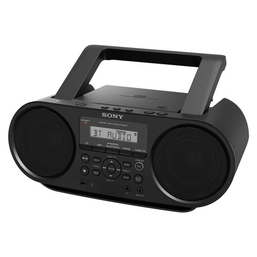 Sony - CD Boombox - Black