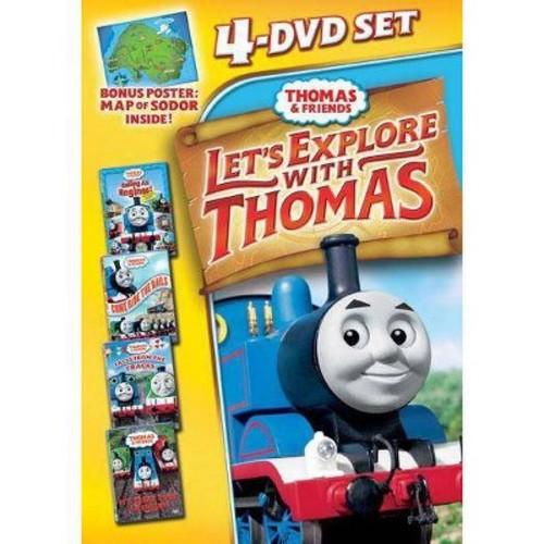 Thomas & Friends: Let's Explore with Thomas [4 Discs]