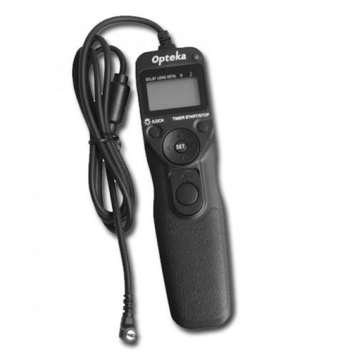 Opteka Timer Remote Control for Canon EOS 1D, 5D, 10D, 20D, 30D, 40D, & 50D Digital SLR Cameras