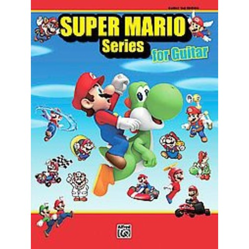 Super Mario Series for Guitar : Guitar Tab Edition (Paperback)