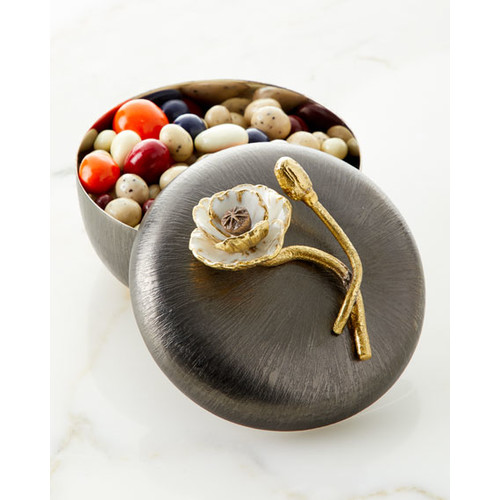 Anemone Covered Candy Dish