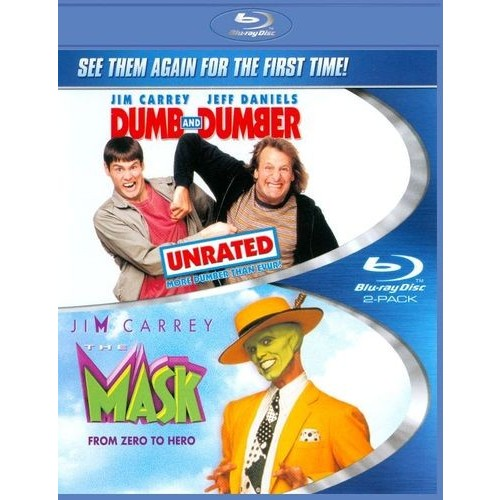Dumb and Dumber [Unrated]/The Mask [Blu-ray]