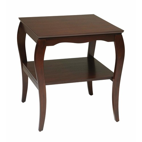 Osp Designs End Table In Cherry Finish [Cherry]