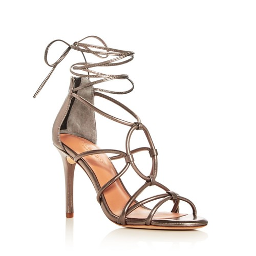 Women's Brielle Caged Ankle Tie Sandals