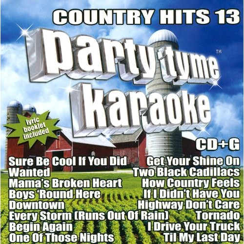 Party Tyme Karaoke: Country Hits, Vol. 13 [CD + G]