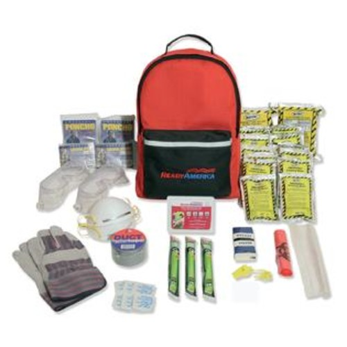 Ready America 2 Person Hurricane Emergency Kit 3 Day Pack