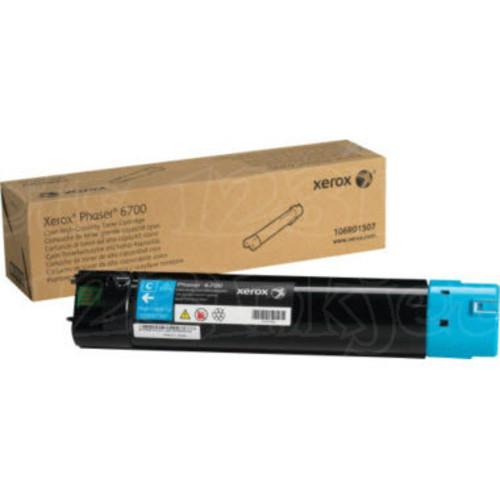 Xerox 106R01507 (106R1507) High-Capacity Cyan OEM Laser Toner Cartridge