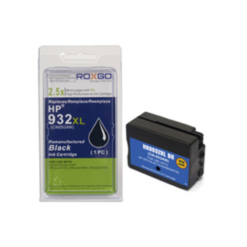 Roxgo High Yield HP 932XL Ink Cartridge - Black