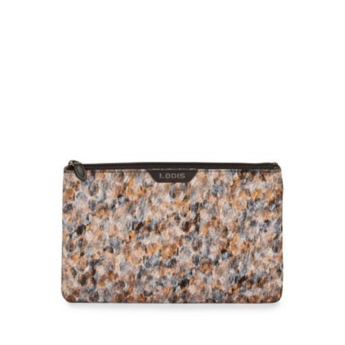 Tof Faux Leather Flat Pouch