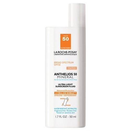 La Roche-Posay Anthelios 50 Ultra Light Sunscreen Fluid, Tinted, SPF 50 1.7 oz