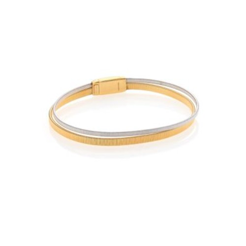 Goa 18K Yellow Gold & 18K White Gold Bracelet