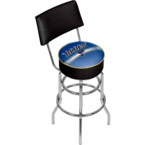Trademark Games St. Louis Blues Padded Swivel Bar Stool with Back