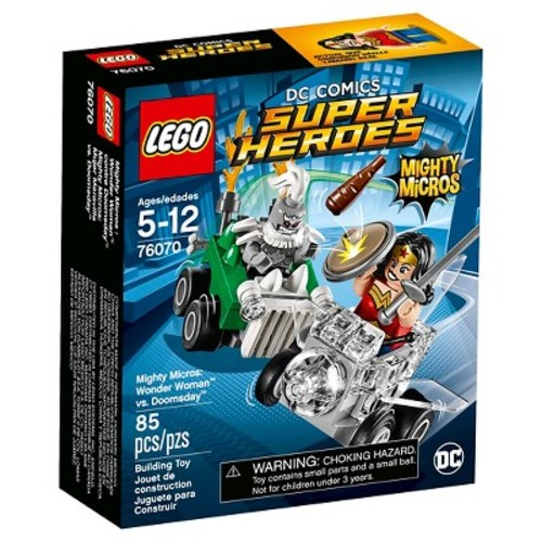 LEGO DC Super Heroes Mighty Micros: Wonder Woman (TM) vs. Doomsday (TM) (76070)
