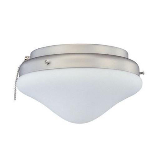 Two Light Ceiling Fan Light Kit Finish: White