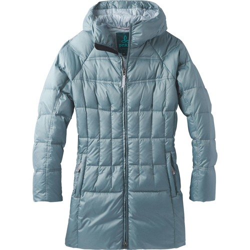 Prana Imogen Long Hooded Down Jacket - Women's