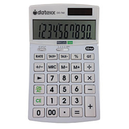 Datexx DD-760 Desktop Calculator